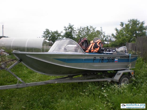 Фотографии моторной лодки южанка 2