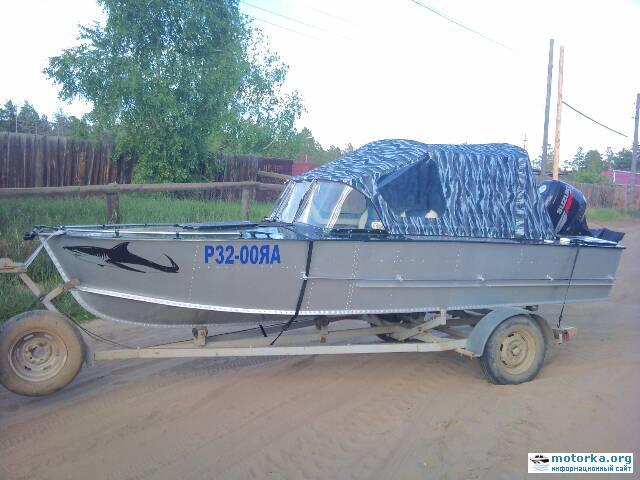 Моторная лодка Прогресс-3М
