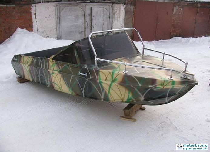 ремонт мотолодки Неман-2