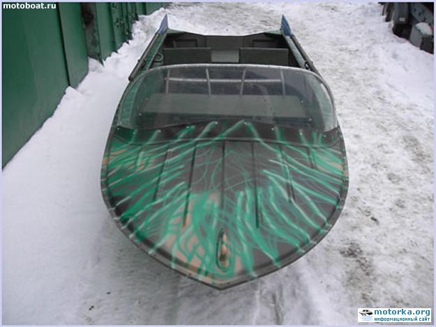 лодка Янтарь2, палуба
