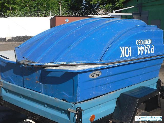 лодка Кейс в сложенном состоянии