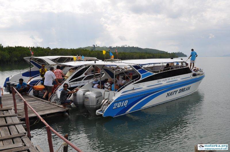 аренда тайской лодки