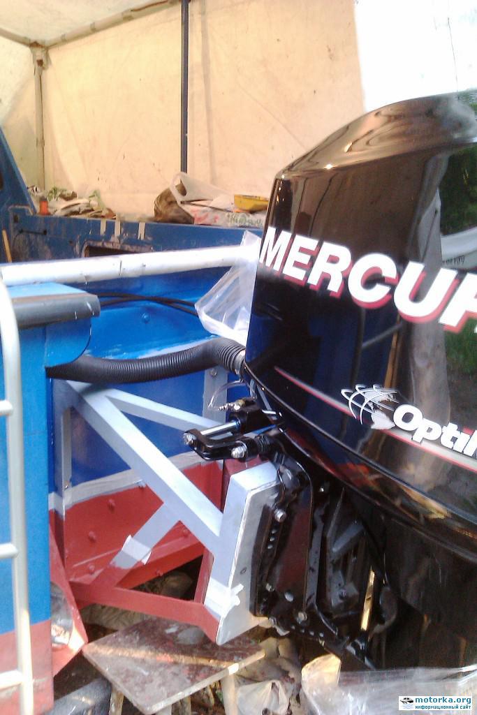 Катер Орлан с подвесным лодочный мотором
