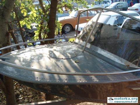клепанная лодка Вега