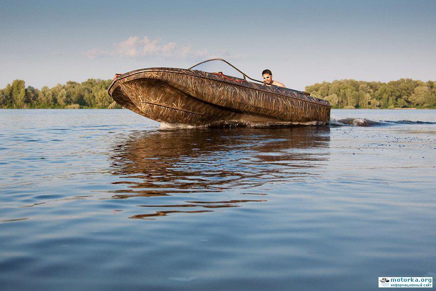 ремонт лодки Обь-3