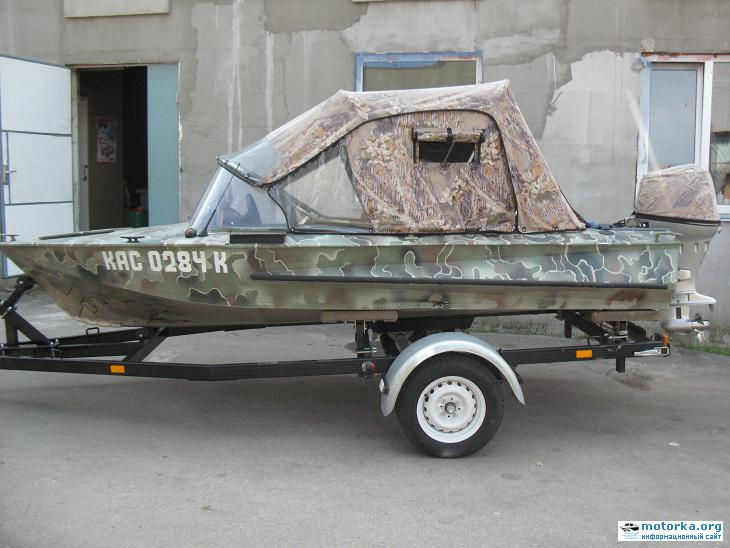 Лодка Обь ГАЗИСО