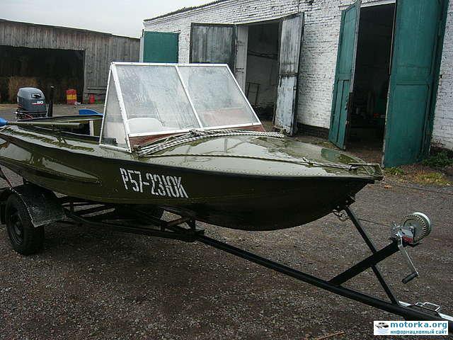 характеристика лодки казанка обь 3