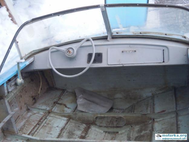 салон моторной лодки Обь-М. Набор