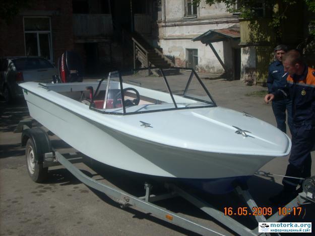лодка Тренер (Спортивное моторное судно, ост 62-146-82, проект №335