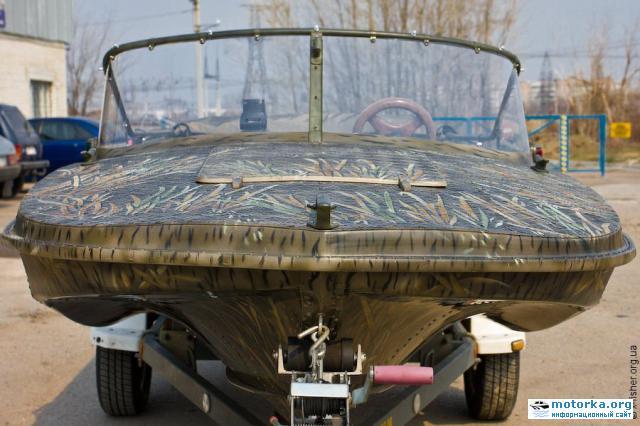 как покрасить лодку обь м
