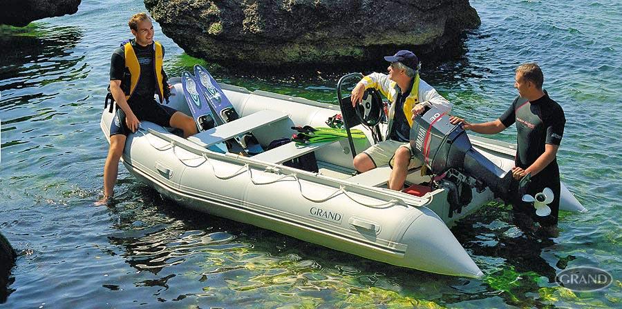 надувные лодки с рулем и с мотором