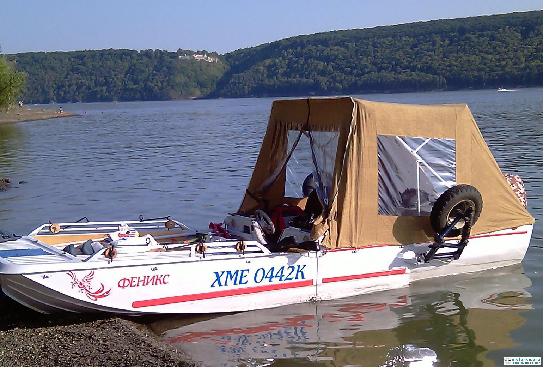 прицеп лодка амфибия дача дон прицеп