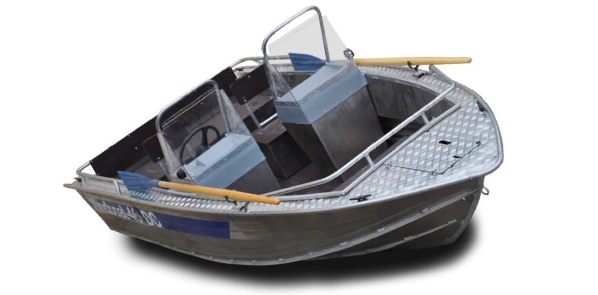 лодки цельносварные