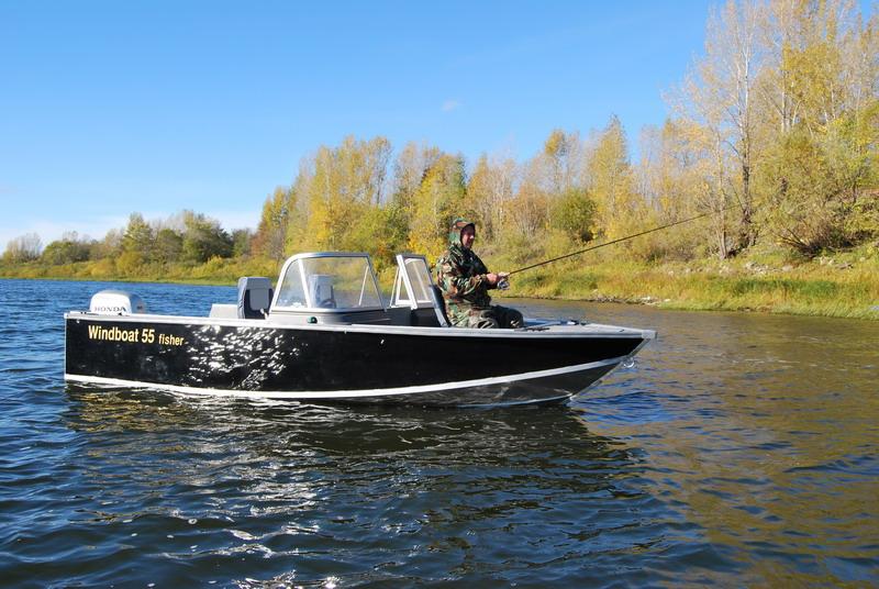 моторная лодка виндбот 38м
