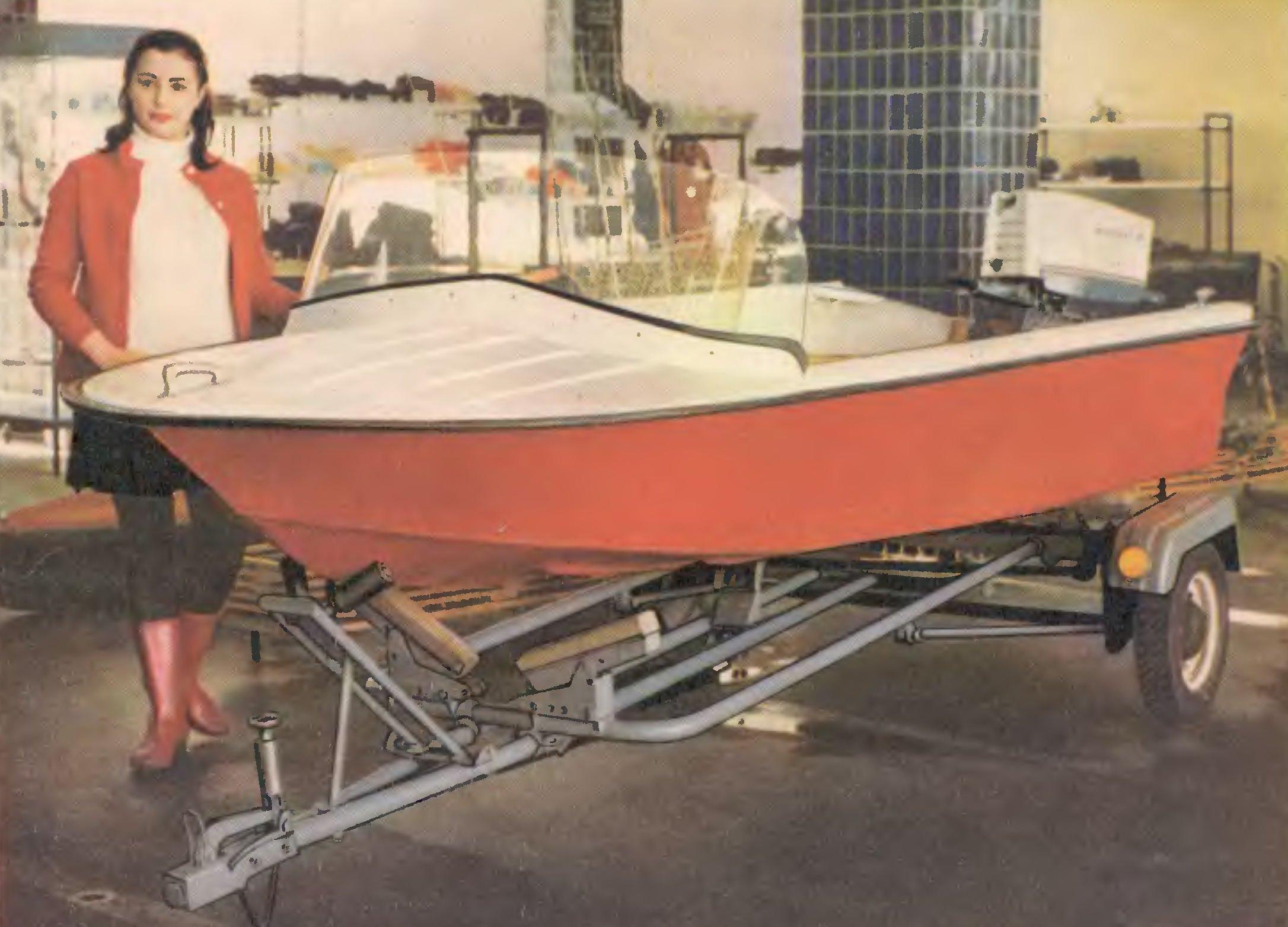 Лодка янтарь своими руками