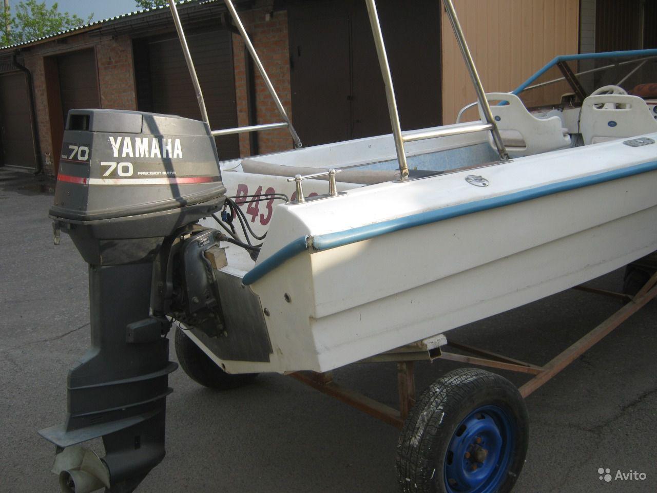 моторная лодка Дракон