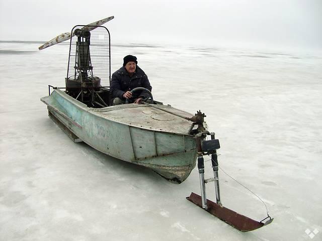 Аэросани из лодки своими руками