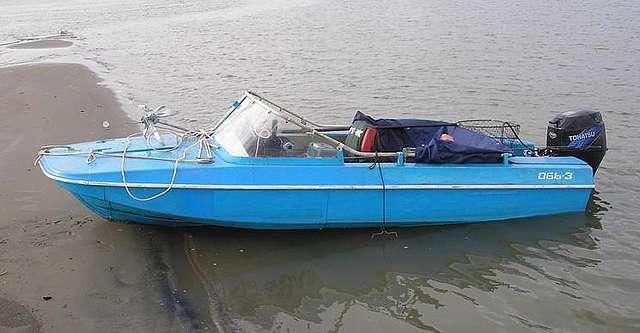 лодка моторная обь фото