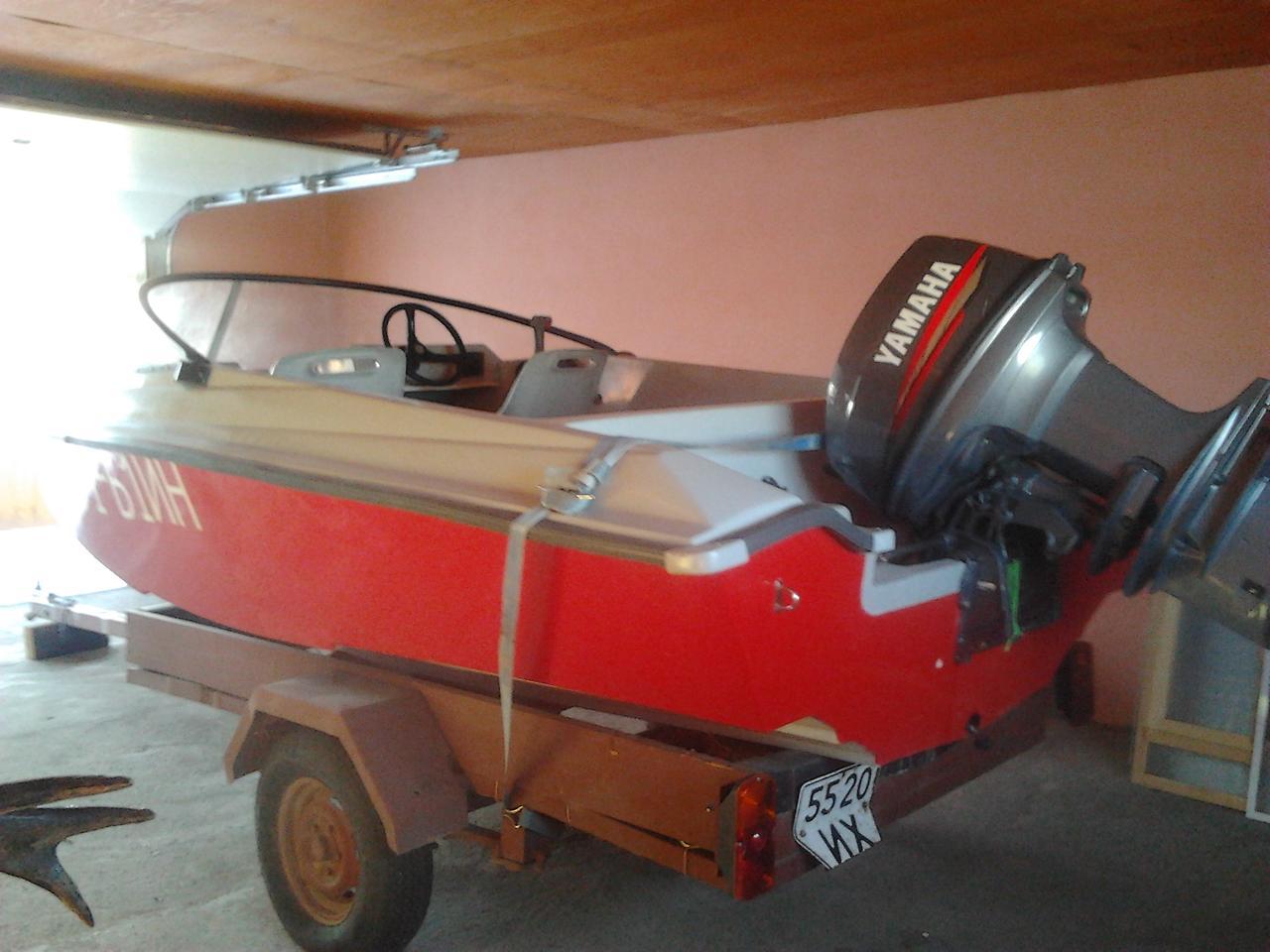 лодка Радуга-420
