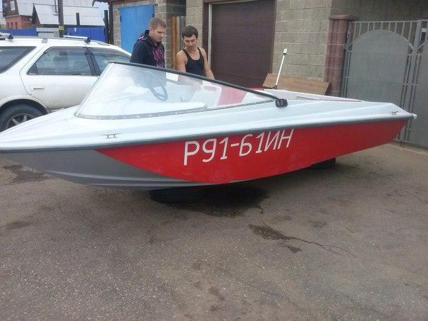 Лодка радуга 34