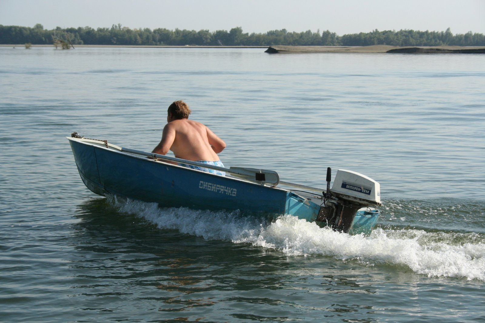 моторная лодка Сибирячка