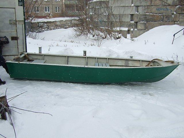 лодка Сибирячка