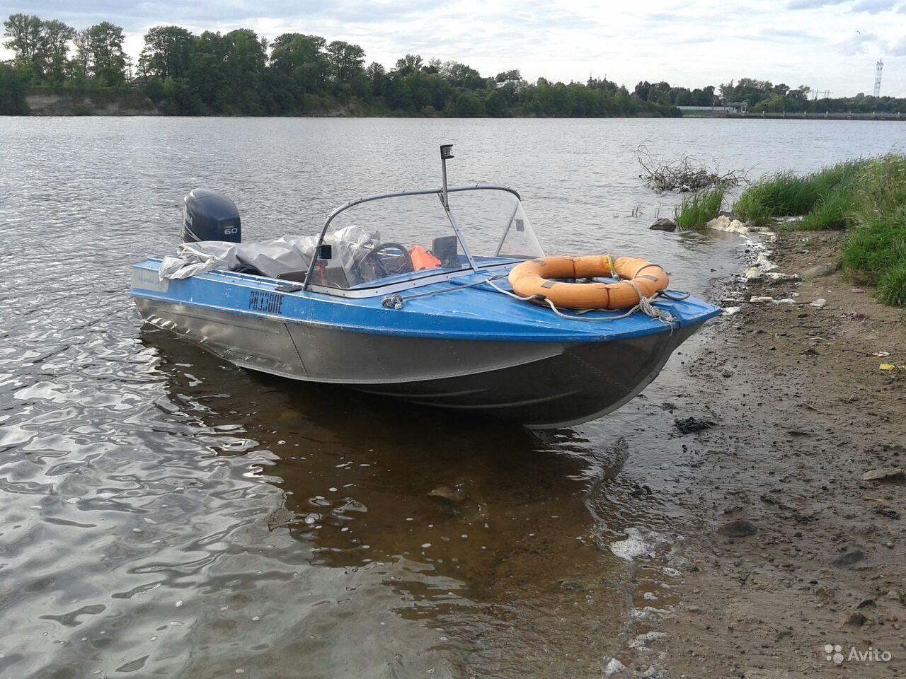 лодка Казанка-5М4