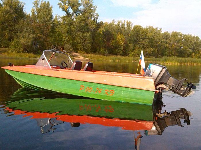 моторная лодка Казанка-5М4