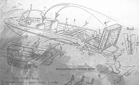 Казанка-5М2. Установка кресел