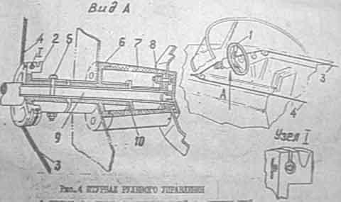 Казанка–5М2. Сигнальная мачта, бортовые огни и контейнер для батареек