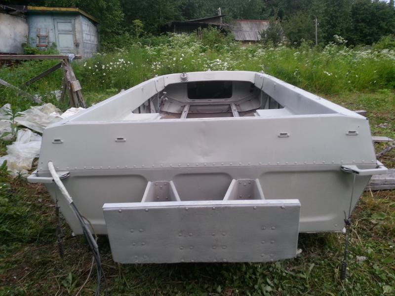 транец лодки Казанка-5