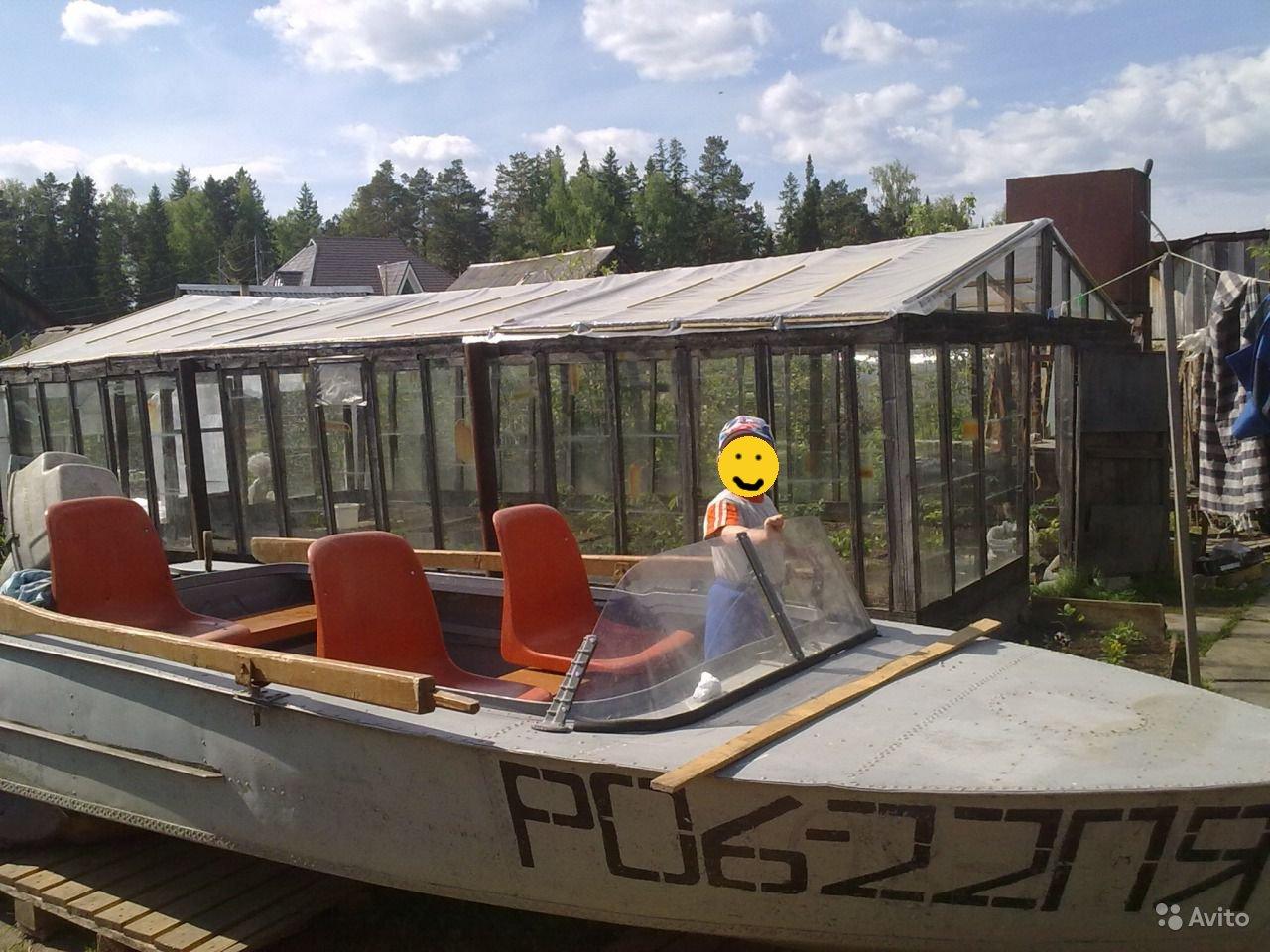 лодка МКМ с родным стеклом