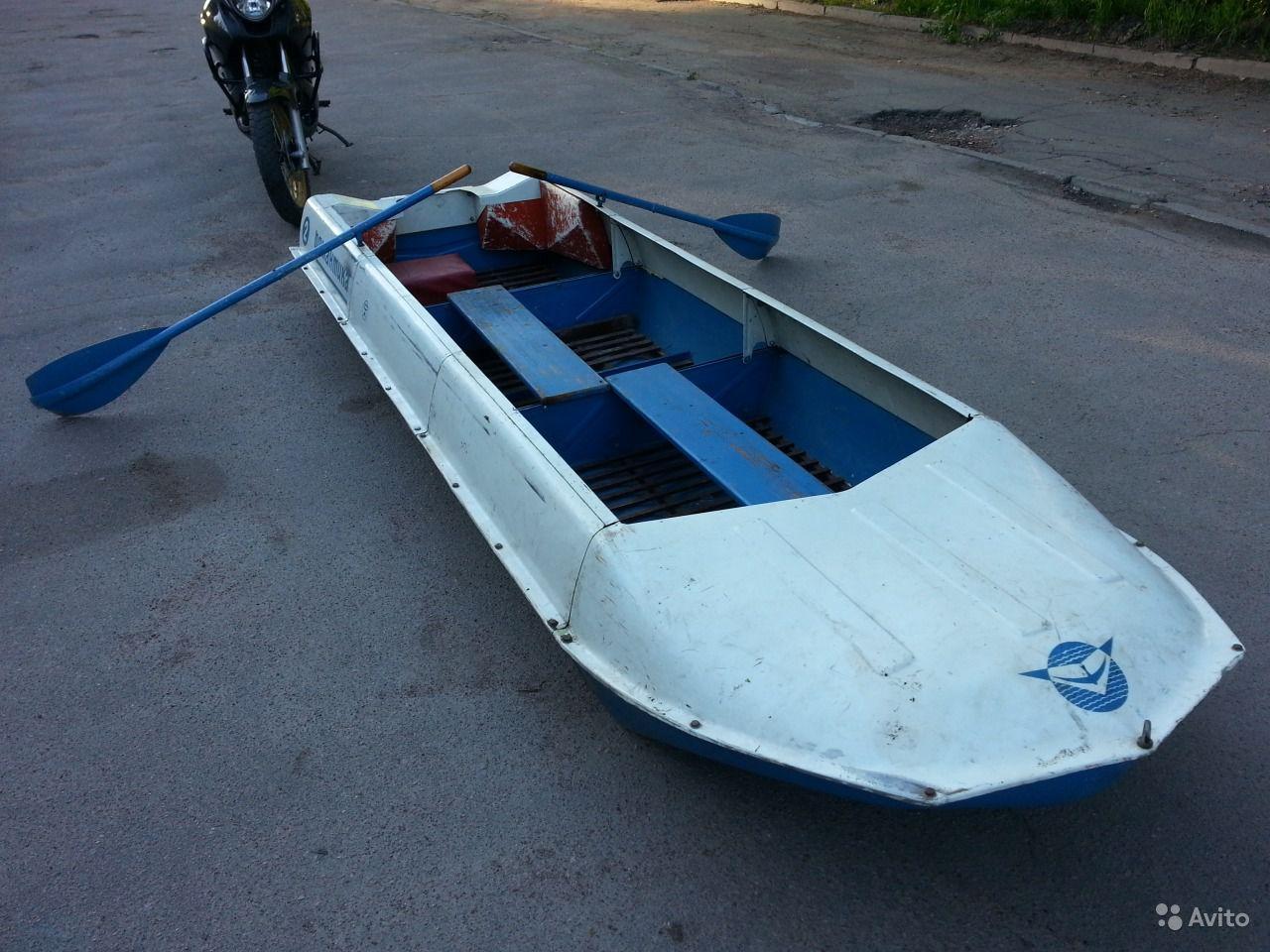купить лодку романтика 4 секционную