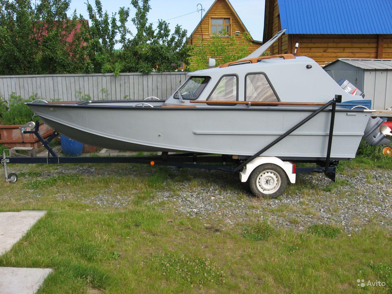 лодка Обь-4 с открытой палубой