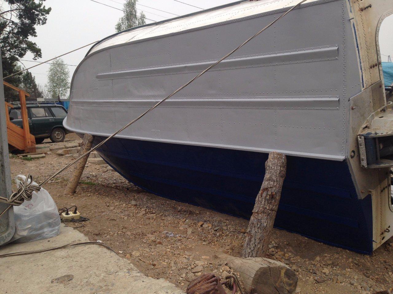 дно лодки Москва-2