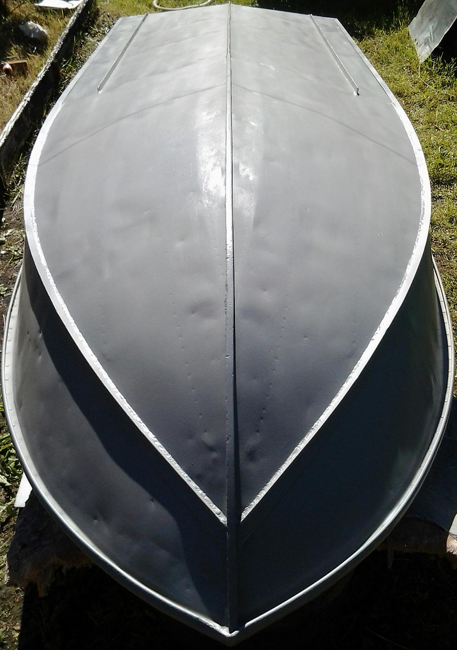 днище лодки Неман-2