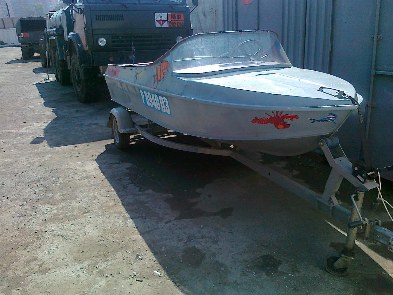 моторная лодка Неман-2