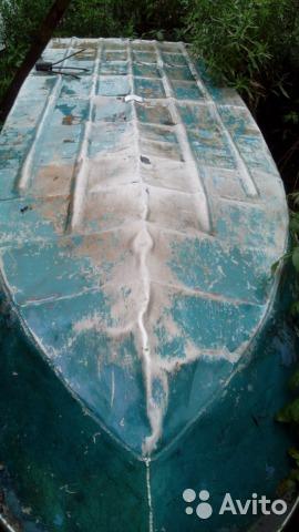 дно лодки Неман-1