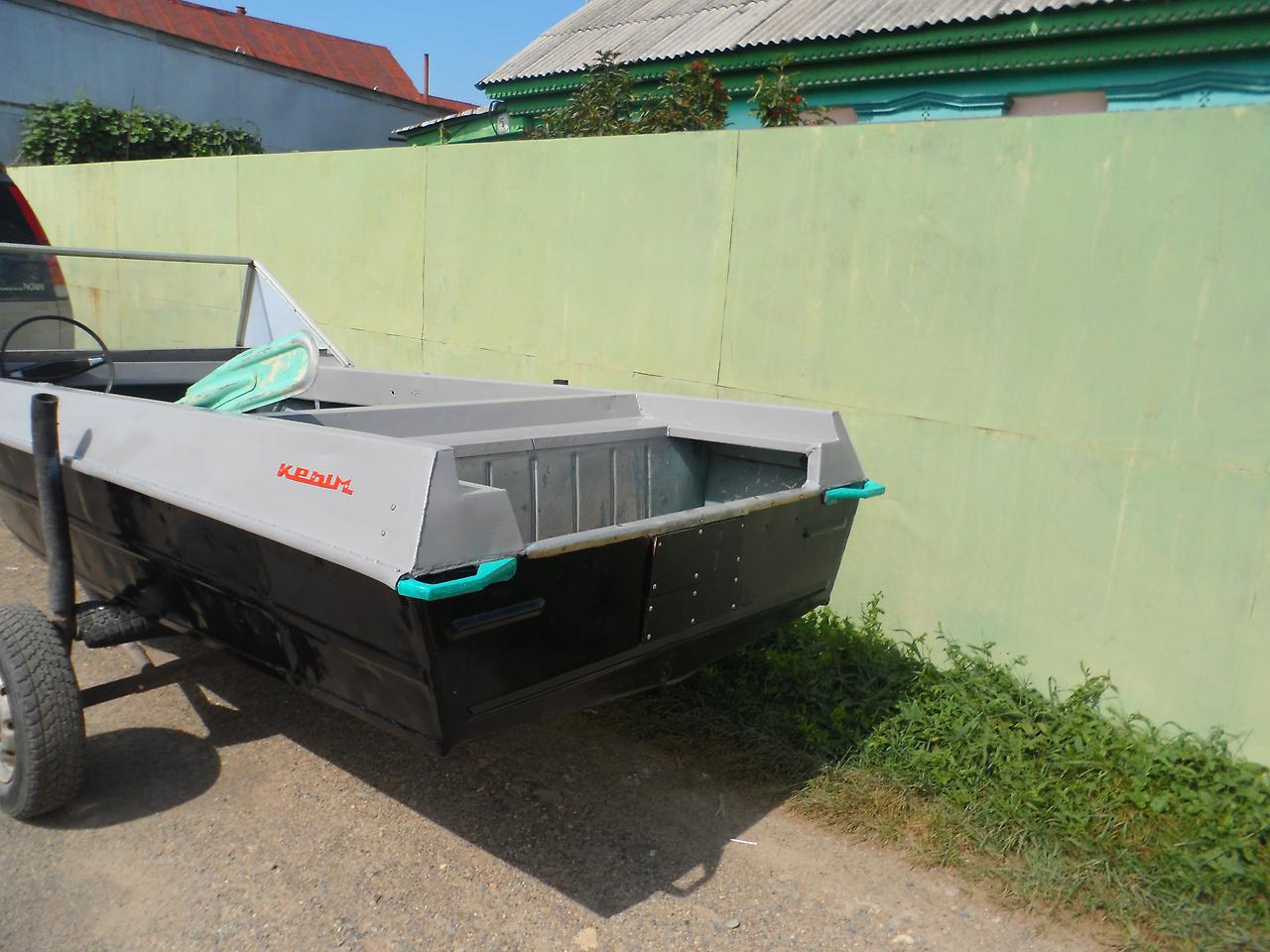 лодка Крым. Транец