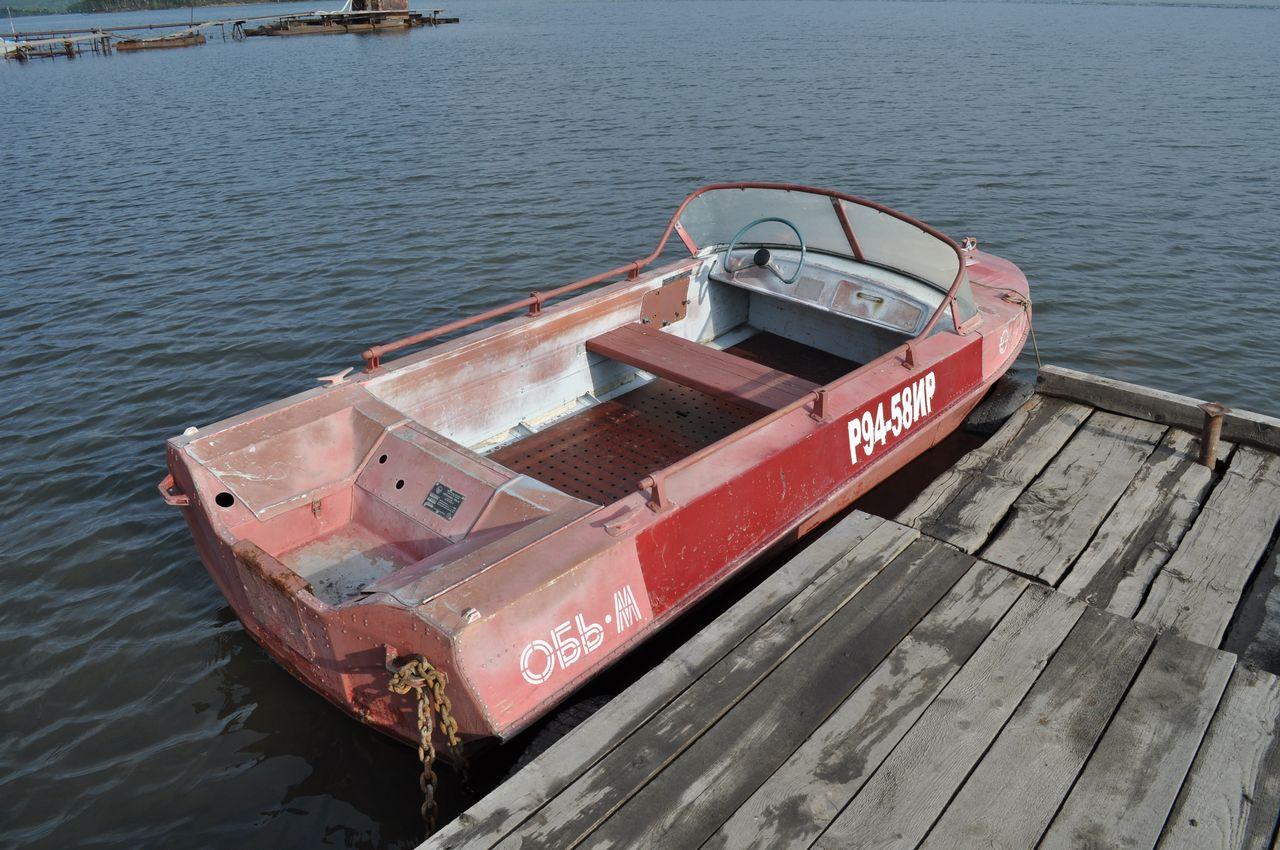 лодка Обь-М