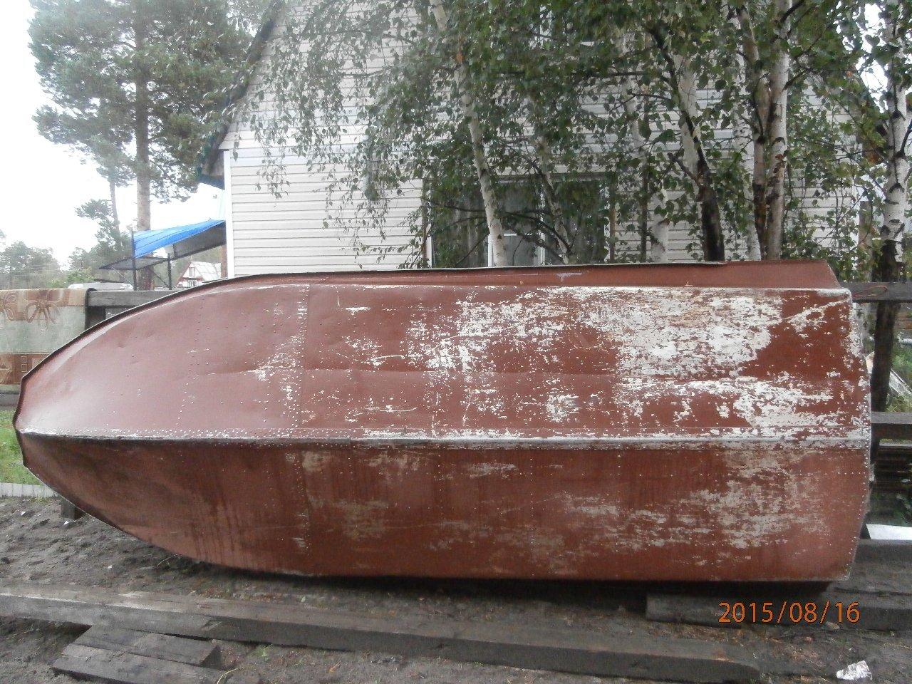Моторная лодка Обь-М