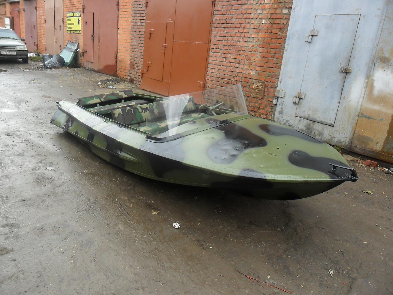 Моторная лодка Обь-1 ЗИЧ
