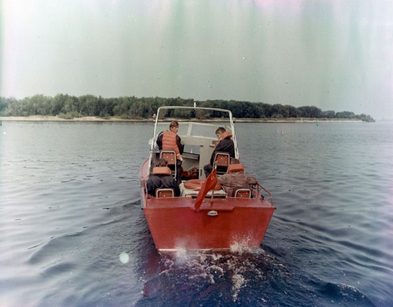 Катер ЛМ4-87МК