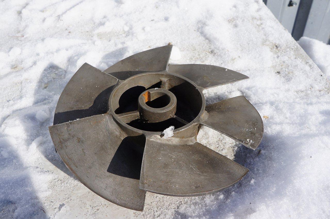 Импеллер для водометного движителя катера Восток-2