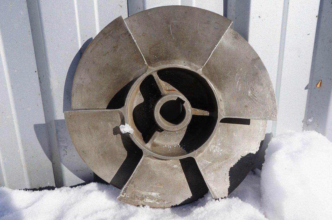 Импеллер для водометного движителя КНАаПО