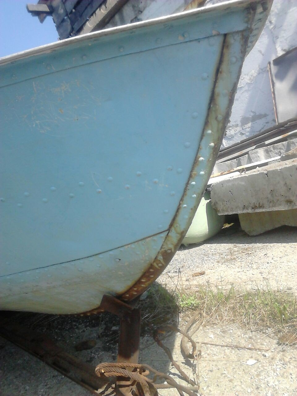 киль катера Амур-1