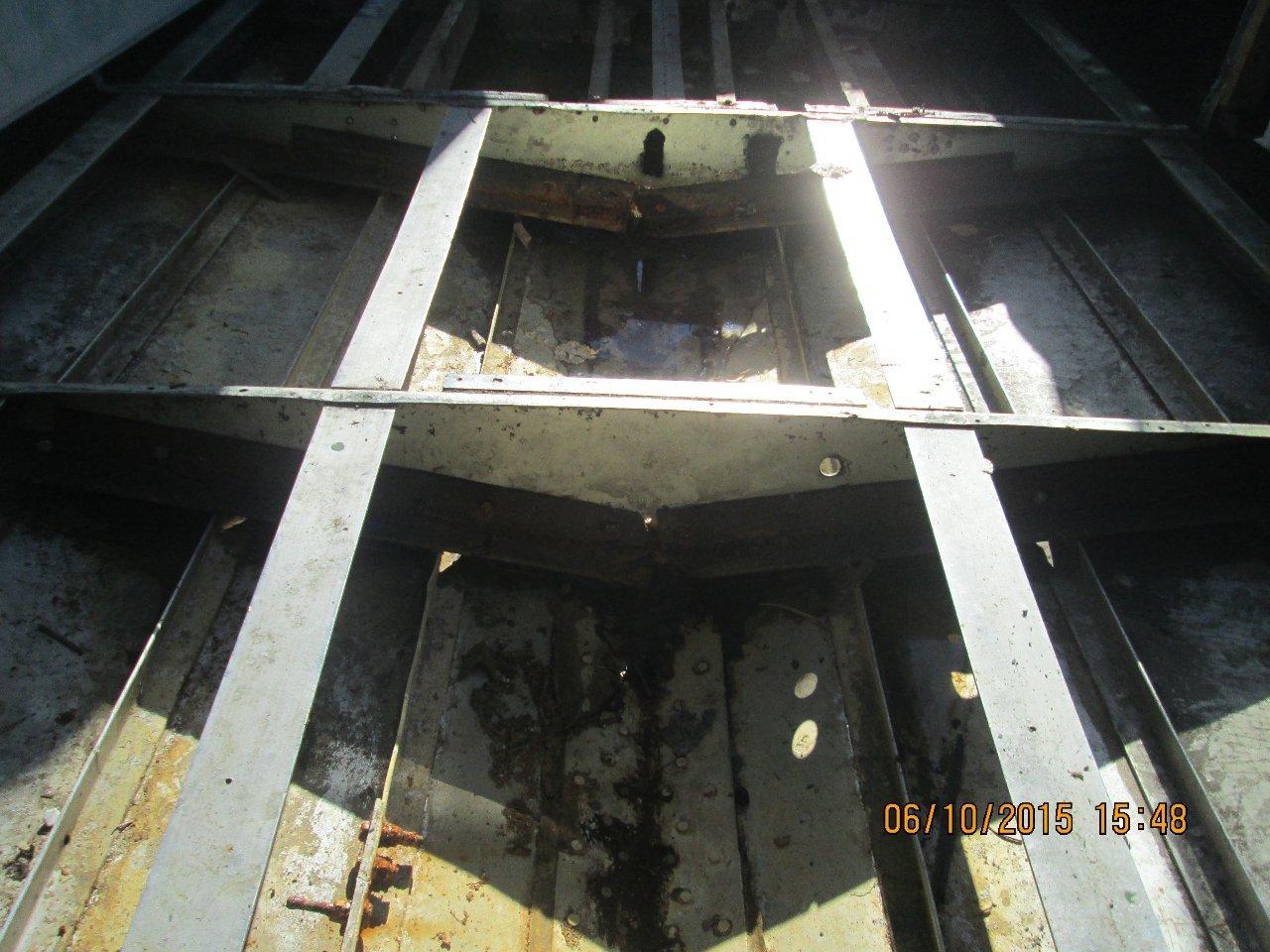 набор днища катера Амур-1