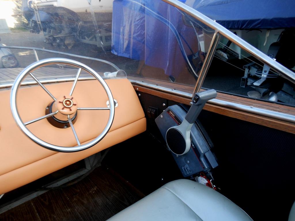 тюнинг катера Амур-1 в ретро стиле