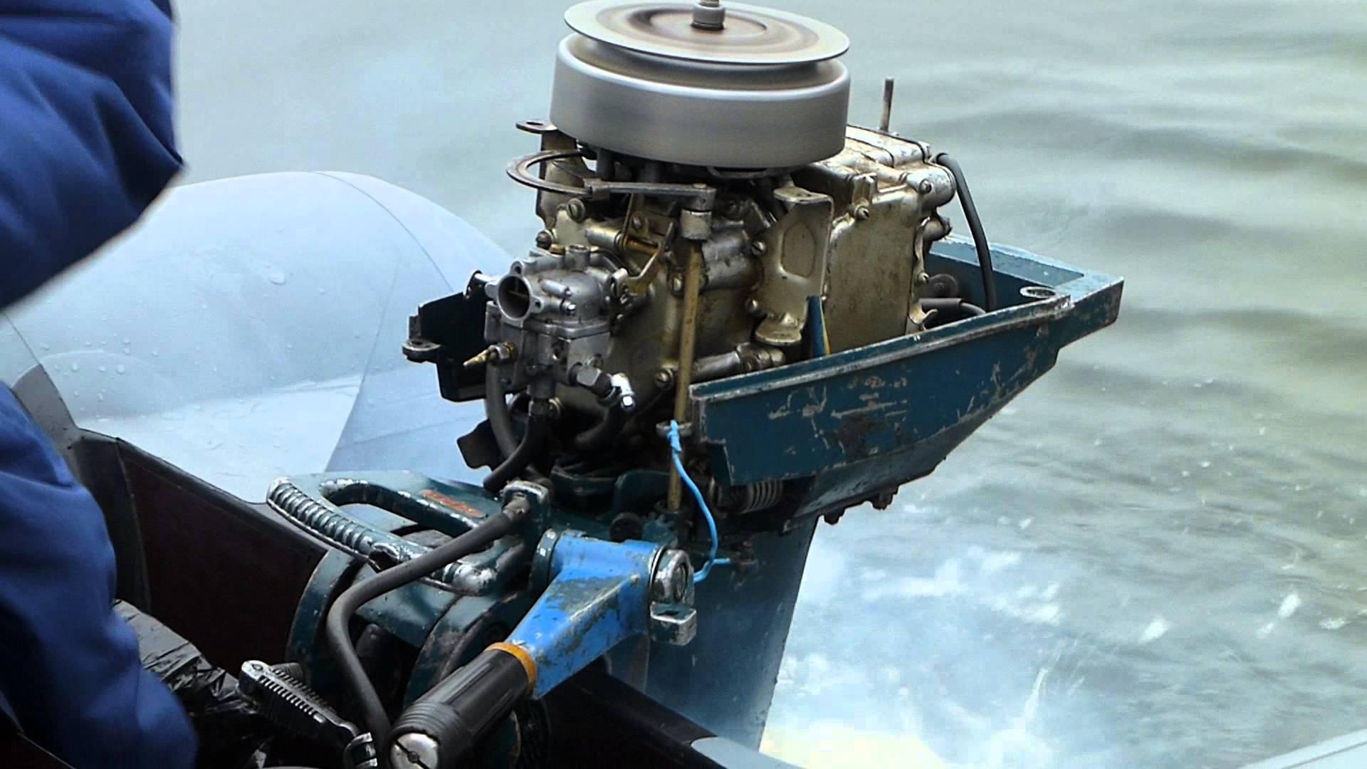 лодочный мотор из мотора оки