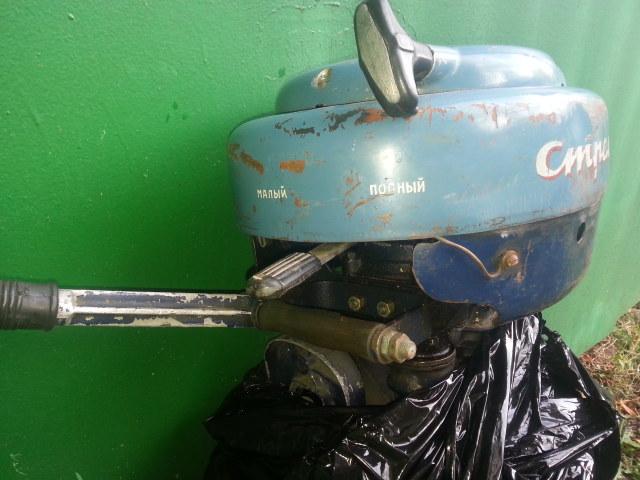 лодочный мотор стрела и его ремонт